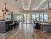 istock Galley between family room and kitchen 1249281377