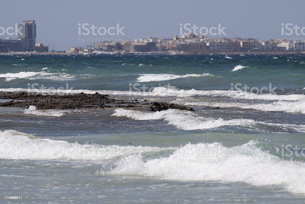 Gallipoli, Salento - Mediterranean Sea, Puglia, Italy stock photo