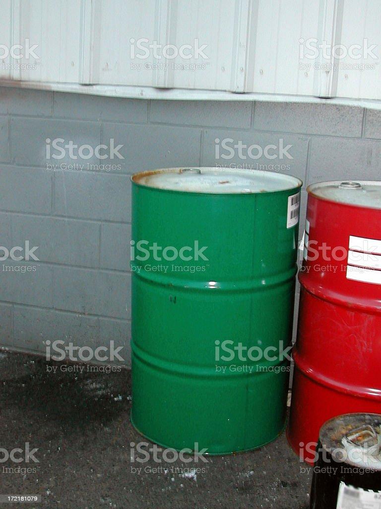 55 gallon drum 002 royalty-free stock photo