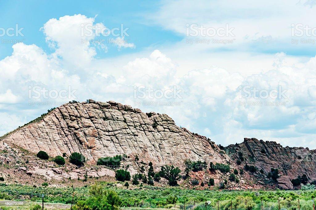 Gallup New Mexico  Roadside Views stock photo