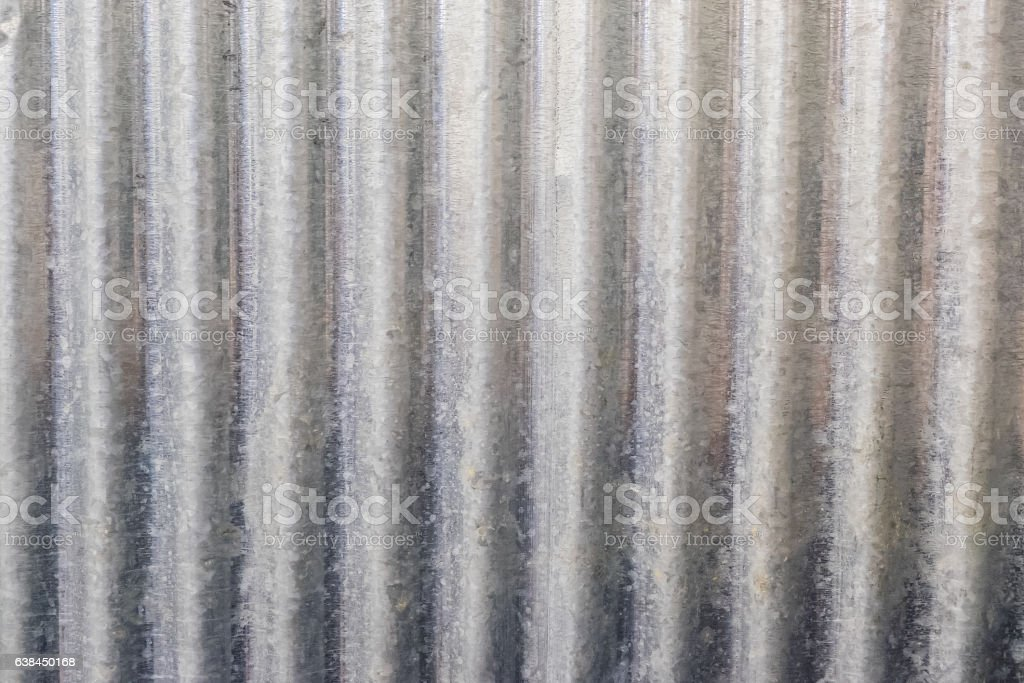 galvanised iron background texture - foto de stock