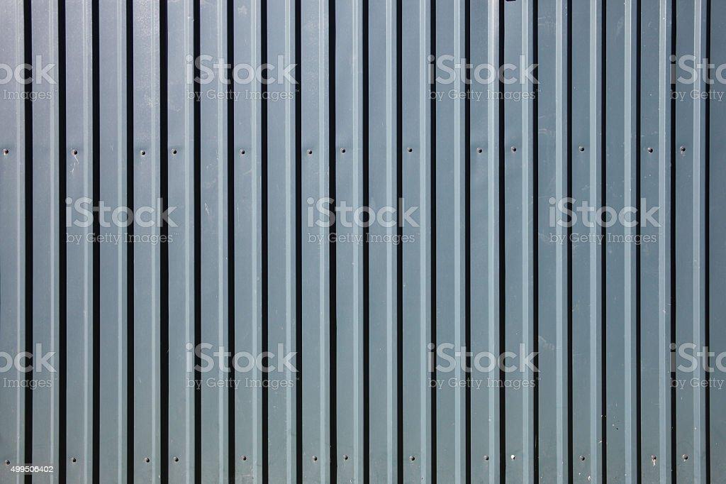 Galvanised steel galvanised steel stock photo