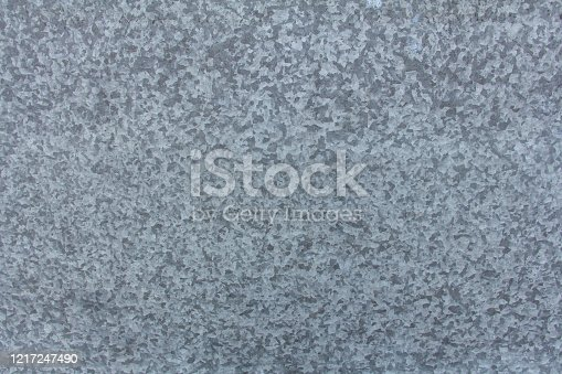 Texture of galvanized sheet. The view from the top.
