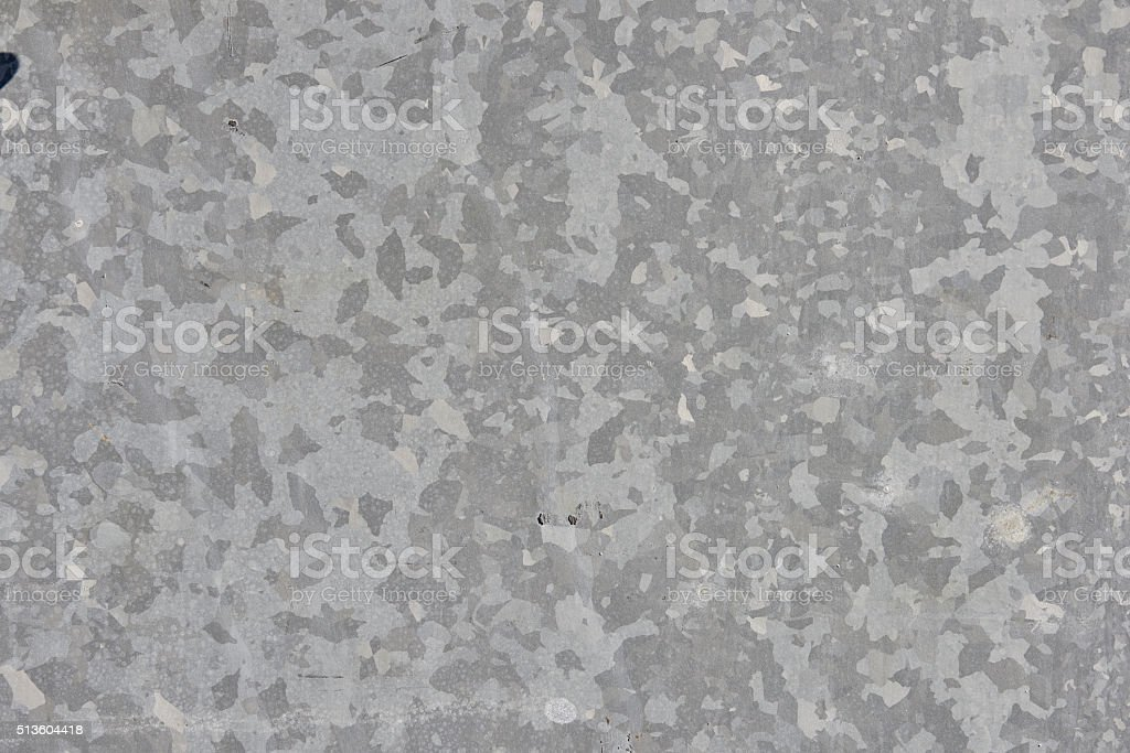 Galvanized metallic plate 2.2 stock photo