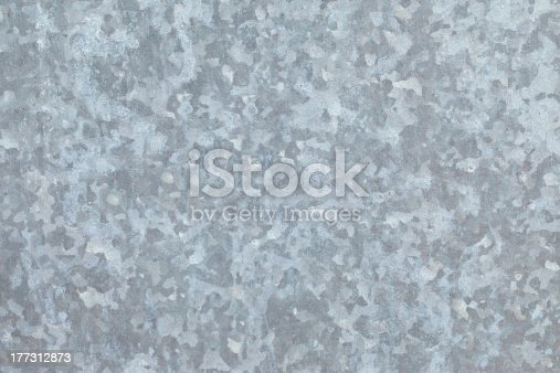 Zinc galvanized sheet of metal. Can be used as background or texture