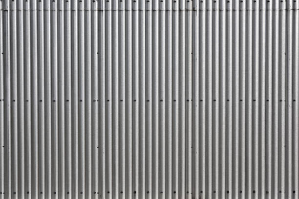 Galvanized Steel Abstract stock photo