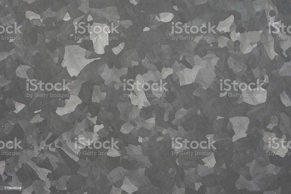 Galvanized Steel stock photo