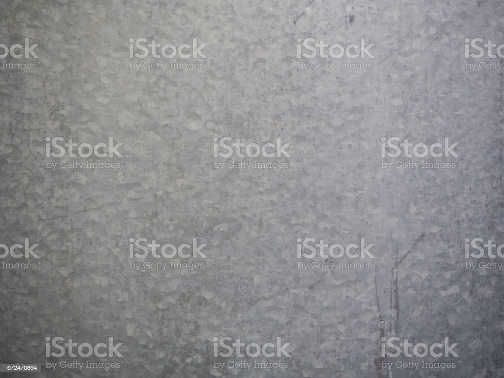 galvanized steel plate background , metallic stainless corrugated chrome texture stock photo