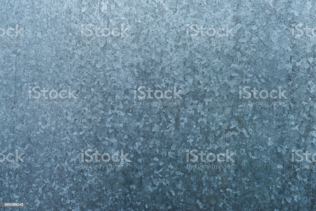 Galvanized steel sheet texture background zbiór zdjęć royalty-free