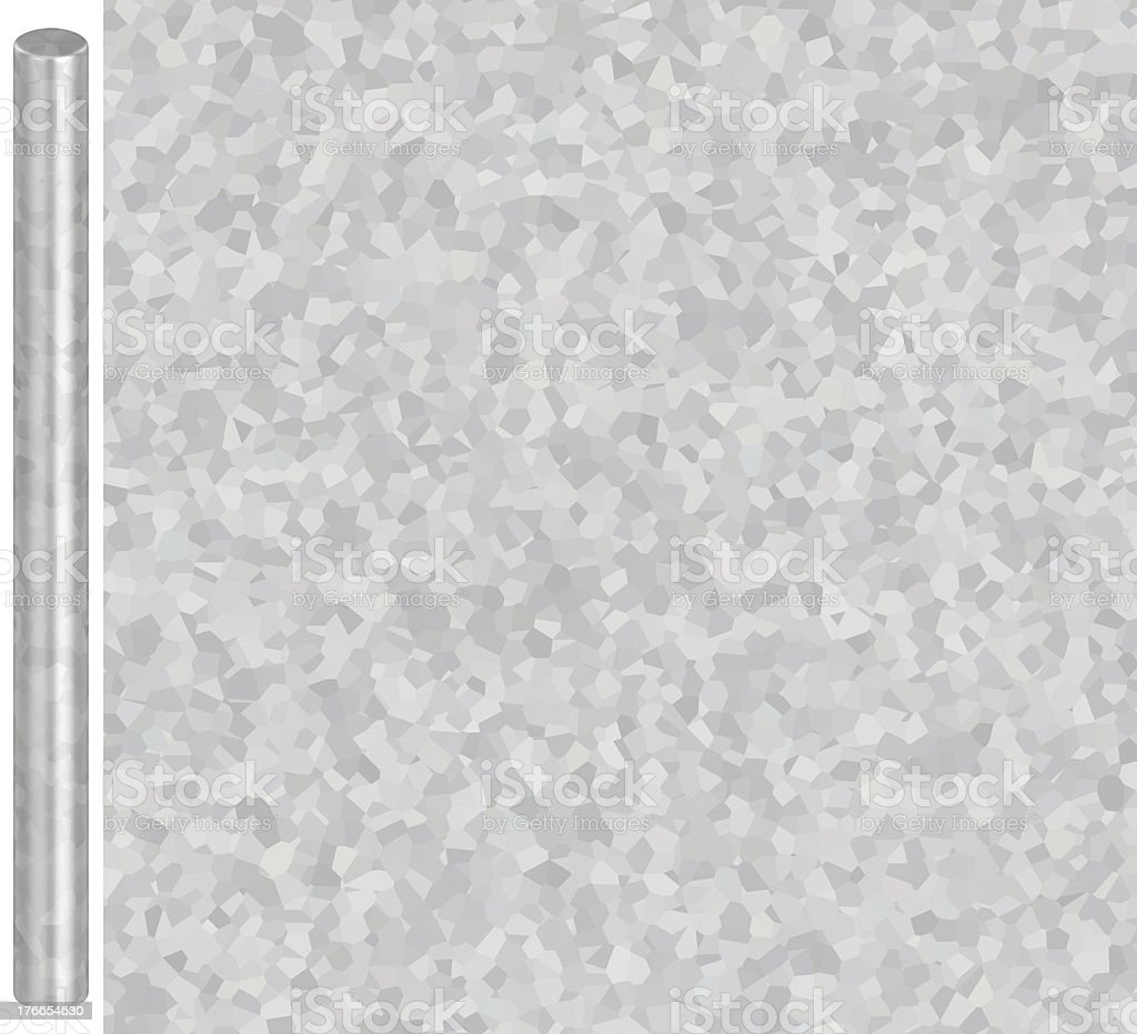 Galvanized Steel Texture (For Metal Tubes) royalty-free stock photo