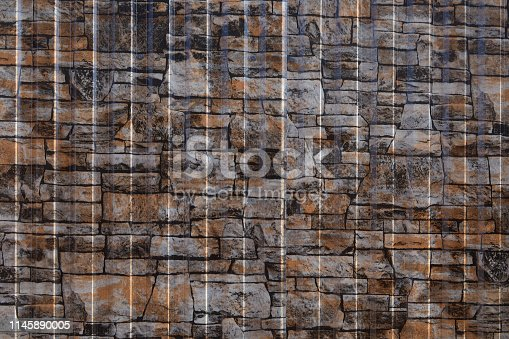 istock Galvanized steel wall plate 1145890005