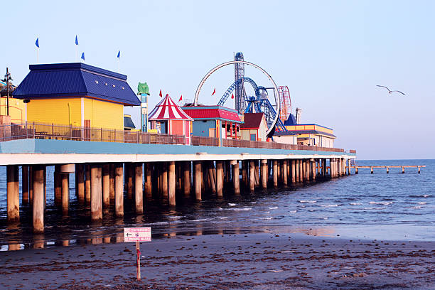 Galveston pier amusement park – Foto