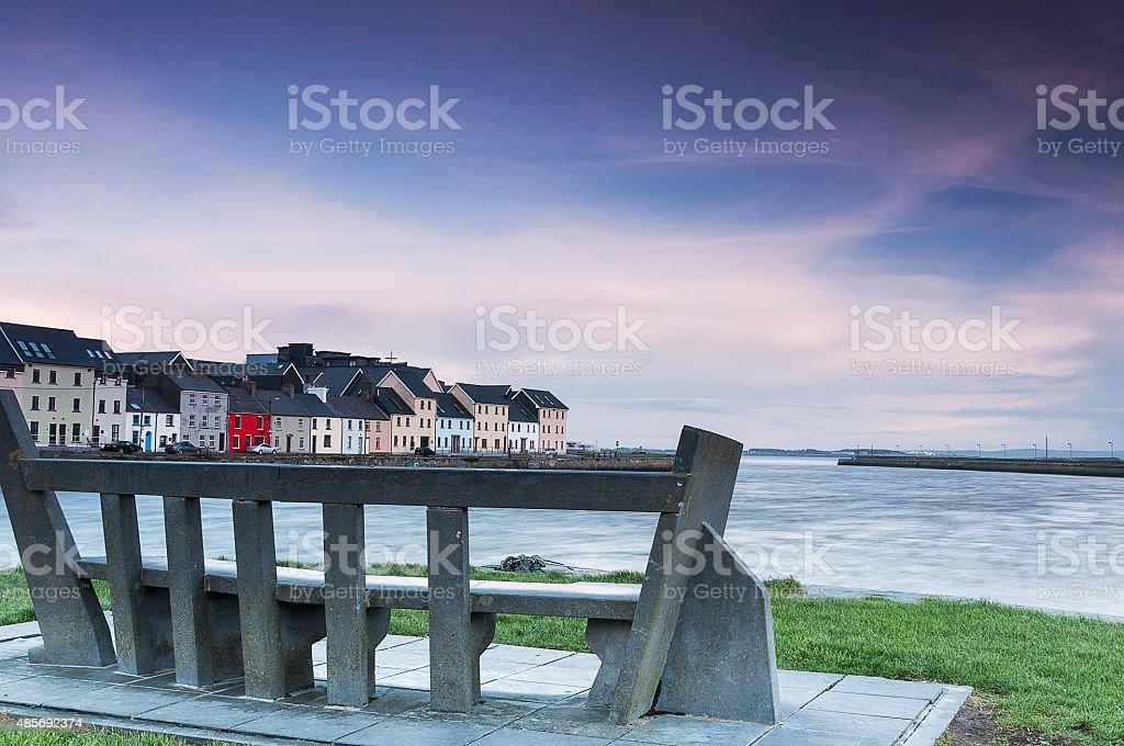 Galway Bay, Ireland stock photo