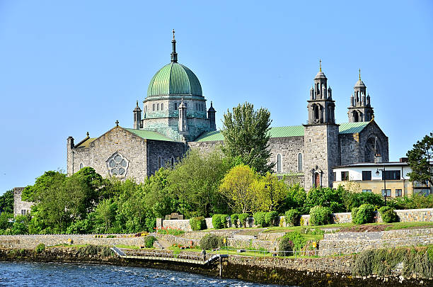 Galway Cathedral (Ireland) stock photo