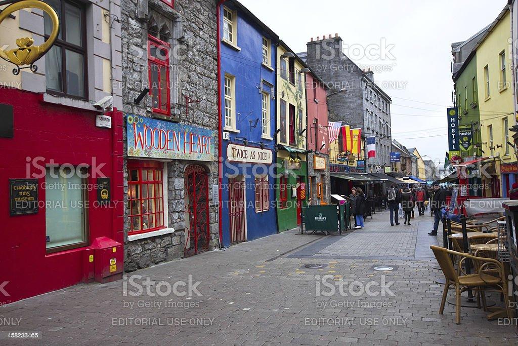 Galway Ireland stock photo