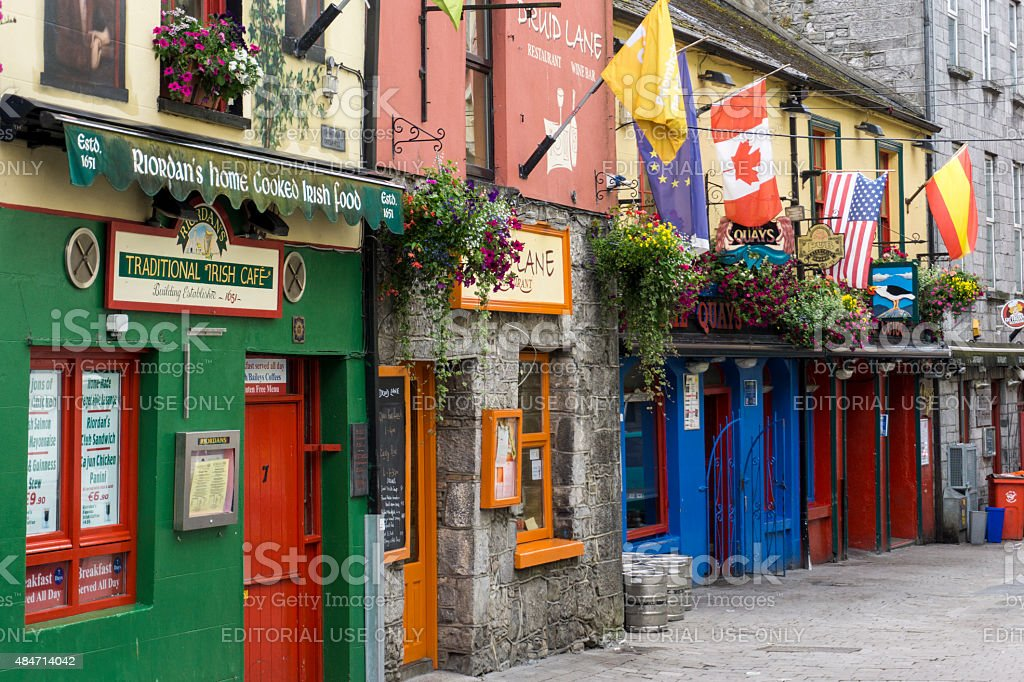 Galway morning stock photo
