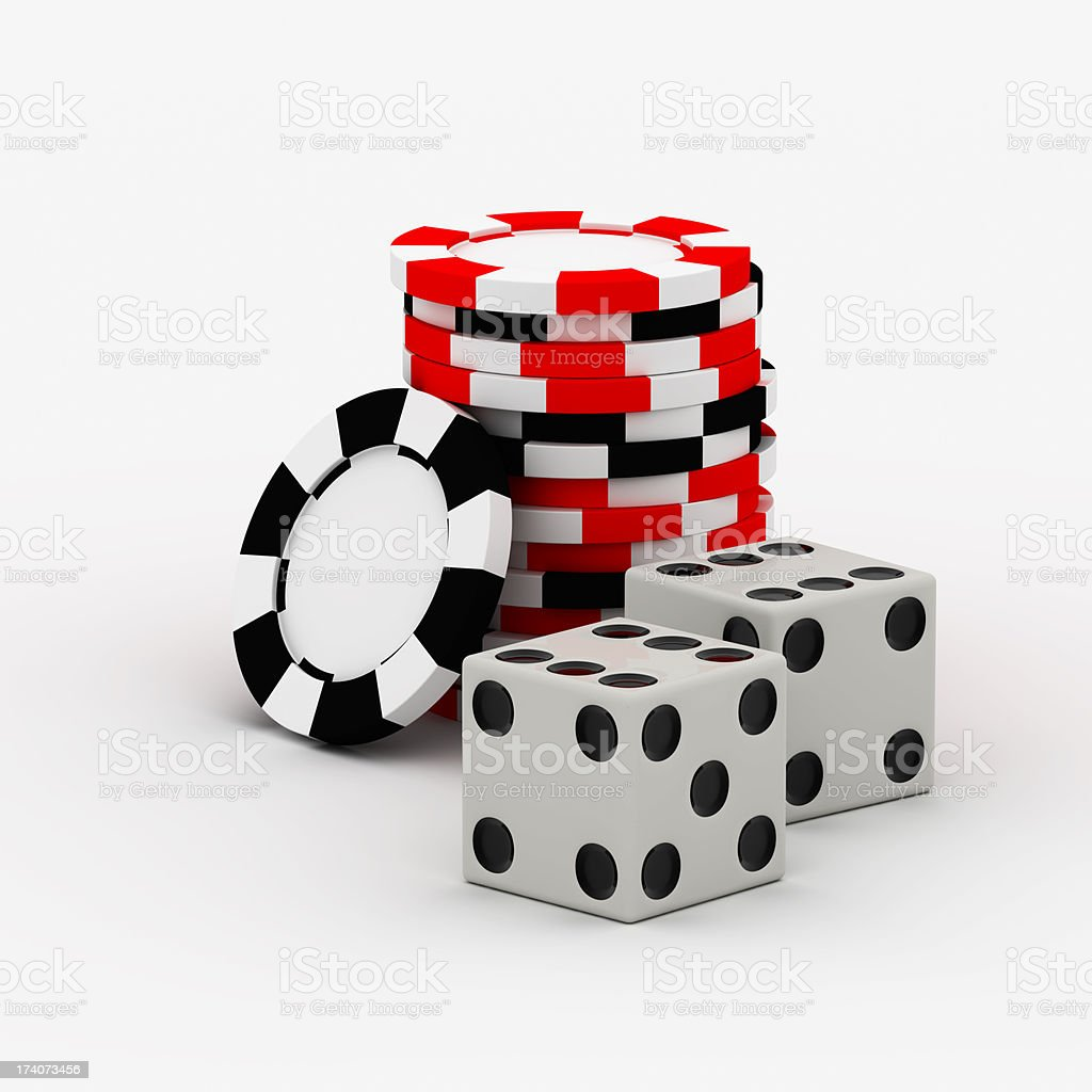 Gamble royalty-free stock photo