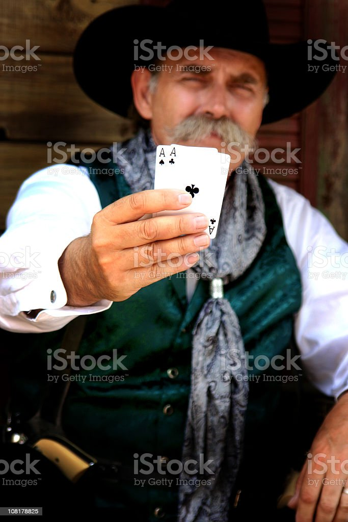 Gambler stock photo