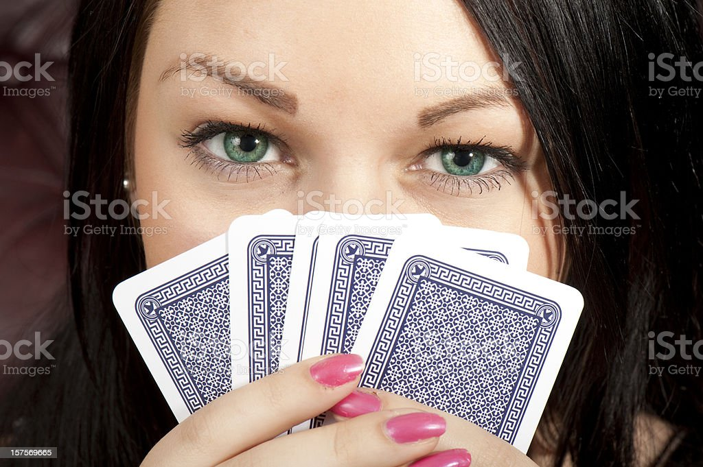 Gambler royalty-free stock photo