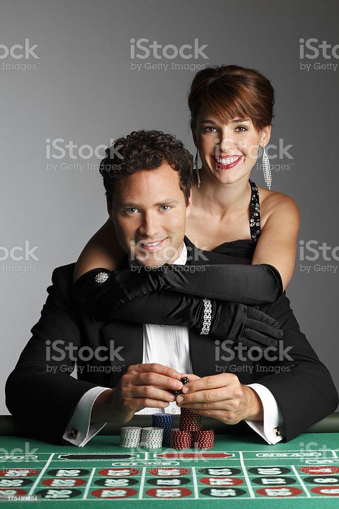 Gamblers royalty-free stock photo
