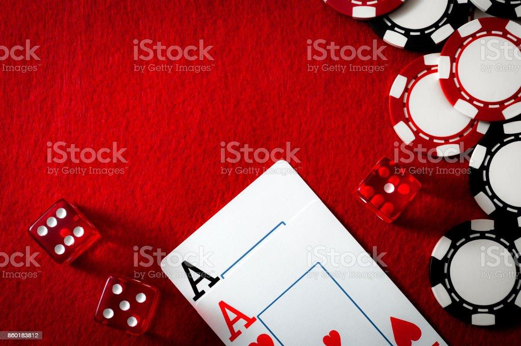Glücksspiel und sucht nach Glücksspielen Konzept – Foto