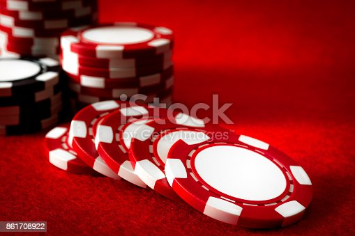 istock gambling and addiction to games of chance concept 861708922