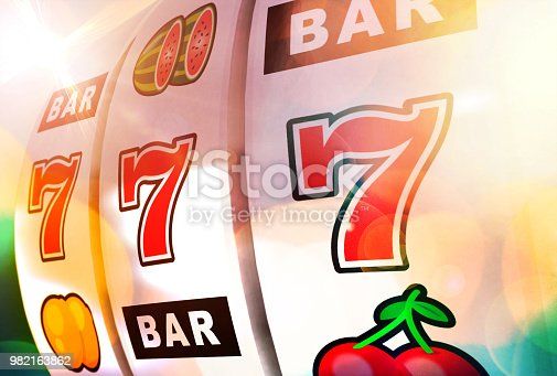 Gambling at the casino - Illustration