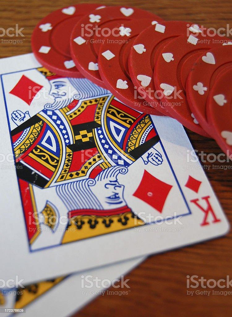 Gambling close up royalty-free stock photo