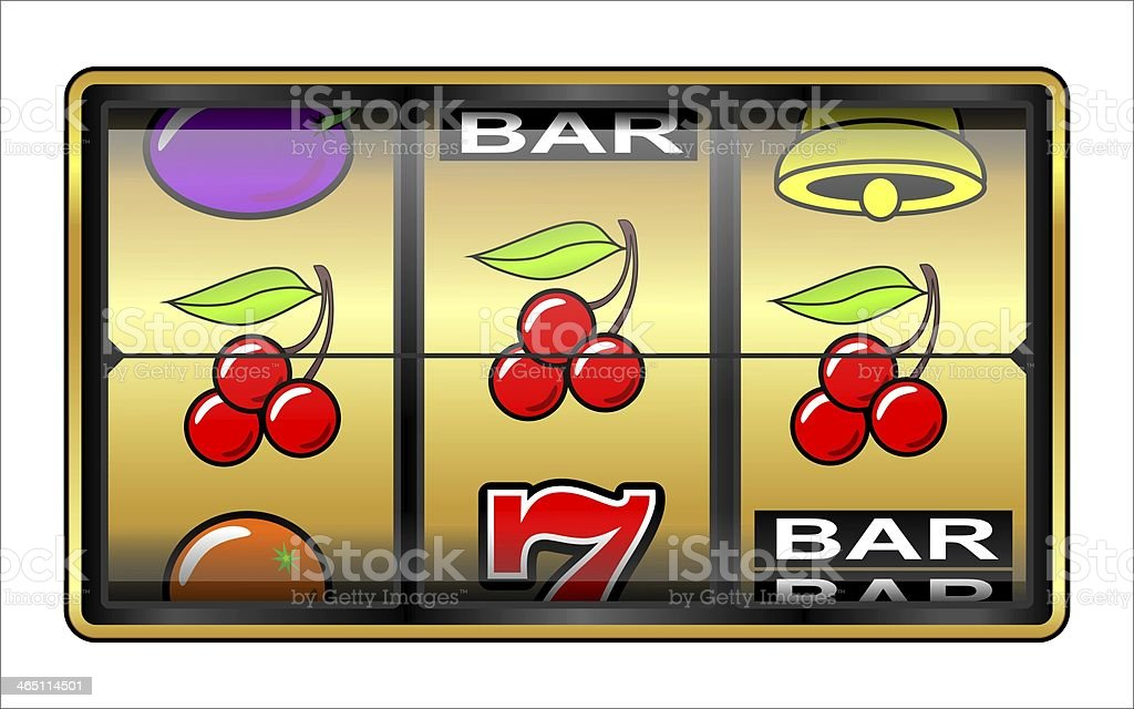 Gambling illustration stock photo