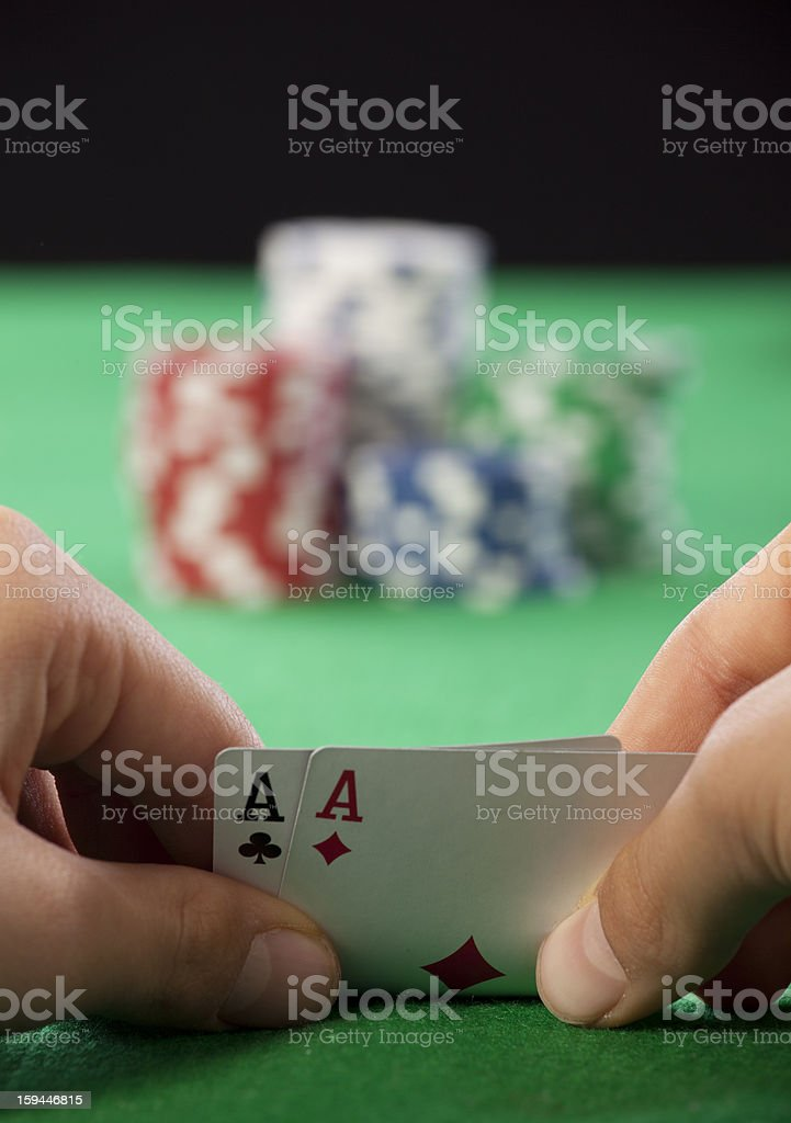 gambling stock photo