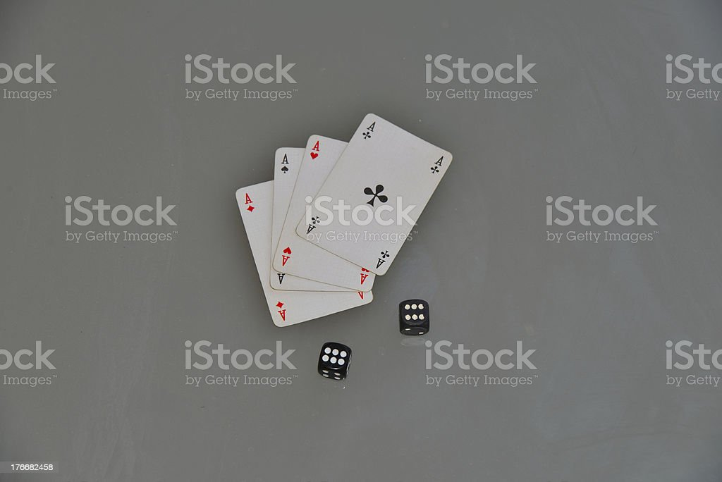 gambling royalty-free stock photo