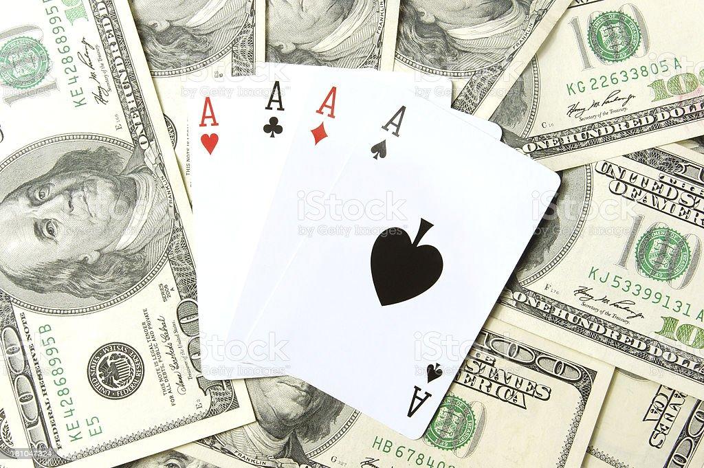 Gambling royalty-free stock photo