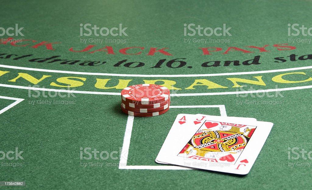 Gioco d'azzardo serie - foto stock