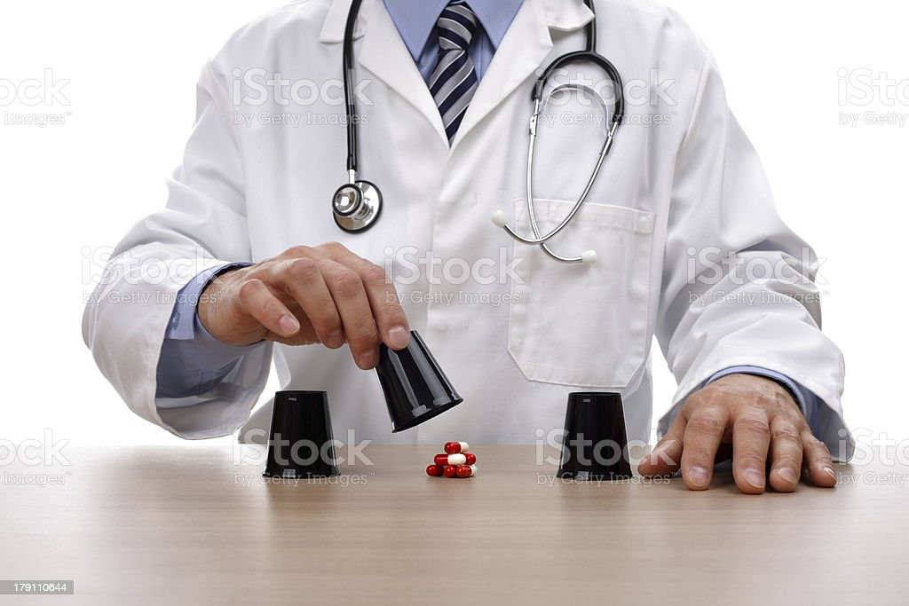 Gambling with healthcare stock photo