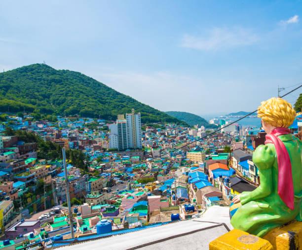 甘川文化村、釜山、韓国 - 釜山 ストックフォトと画像