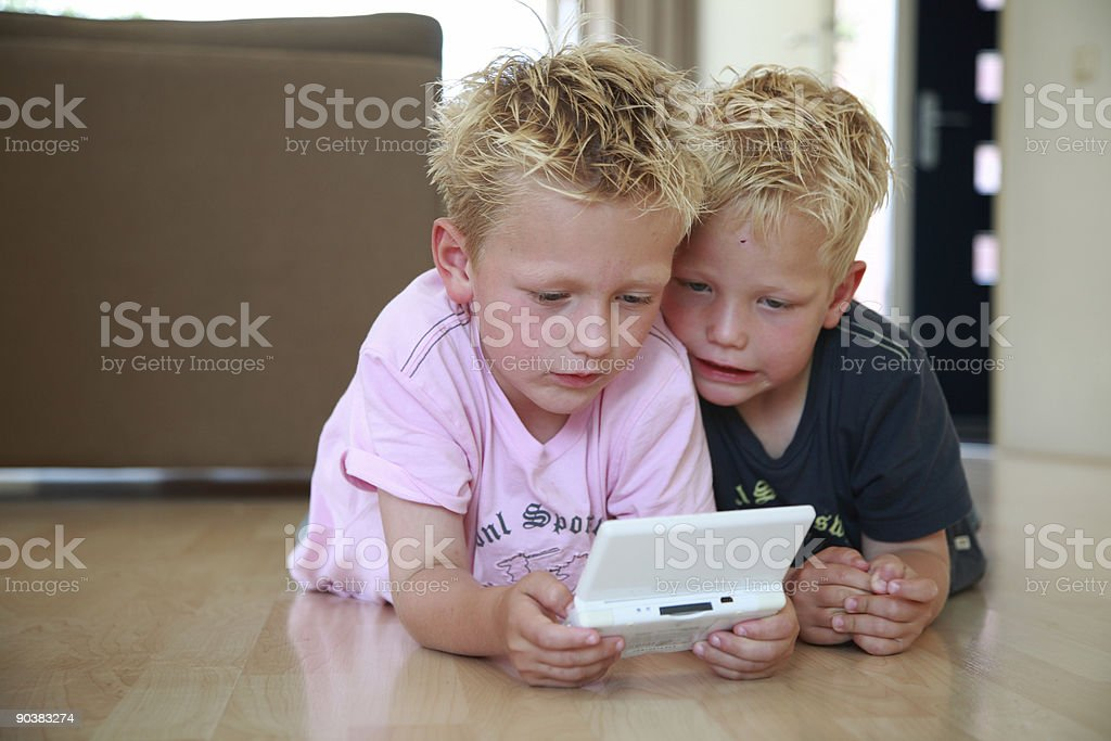 Game Boys royalty-free stock photo