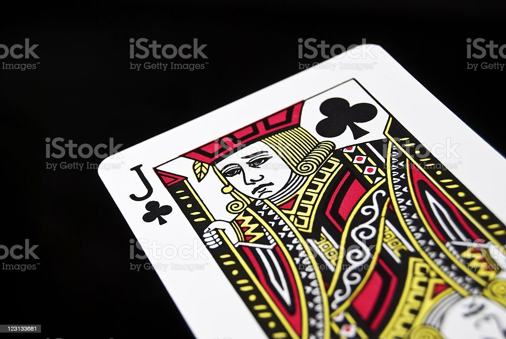 Game Card stock photo
