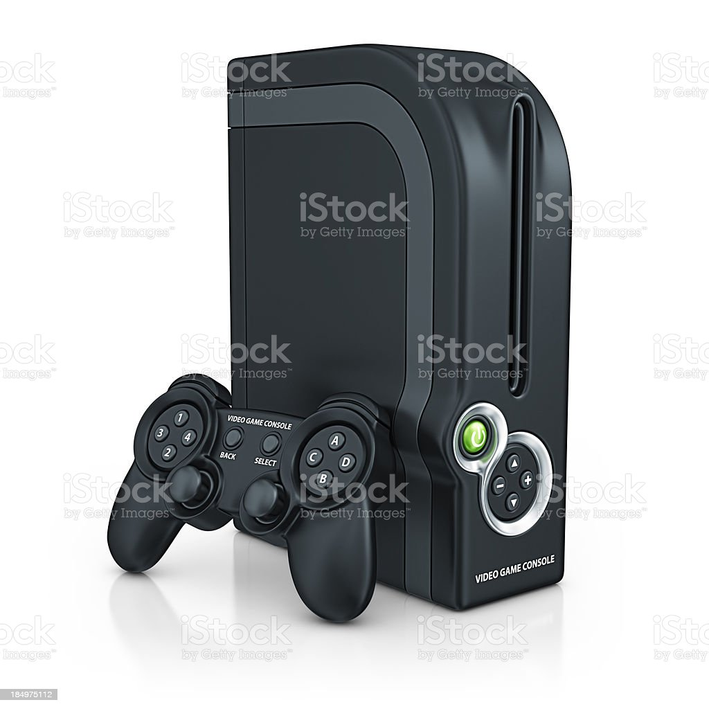 game console stock photo