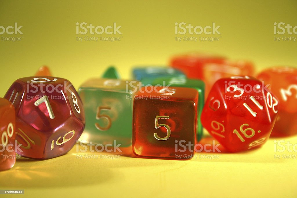 Game Dice royalty-free stock photo