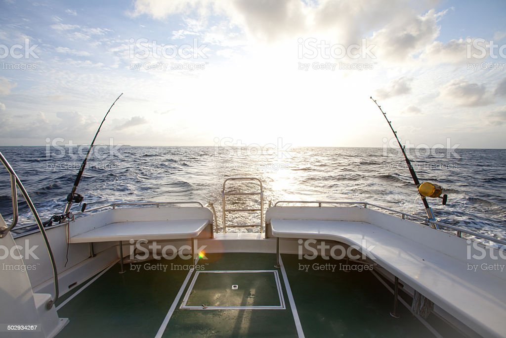 Game Fishing stock photo