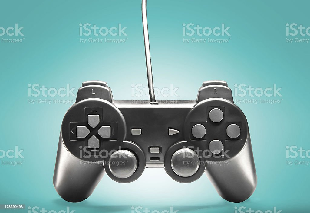 Game joystick controller stock photo