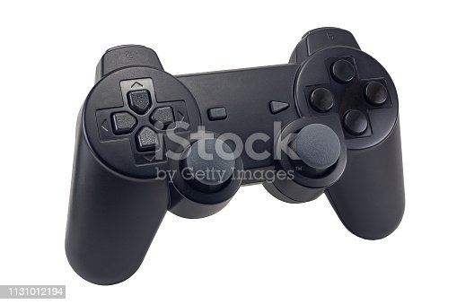 istock game joystick, wireless controller, game pad, game console isolated on white background 1131012194