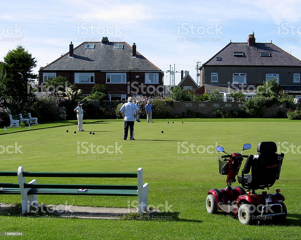 Game of bowls royalty-free stock photo
