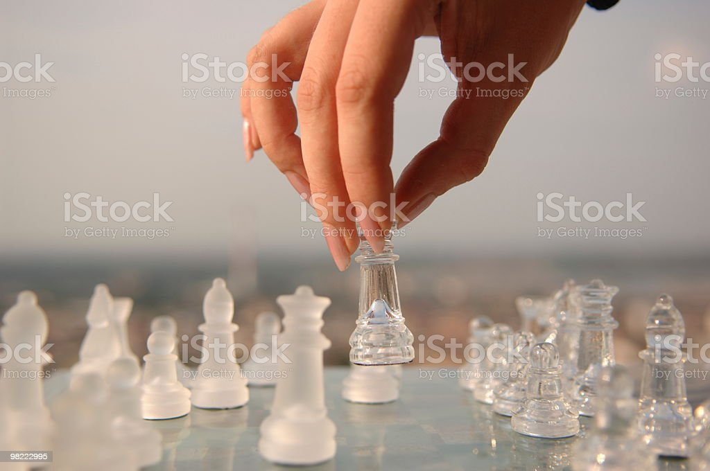 game of chess royalty-free stock photo