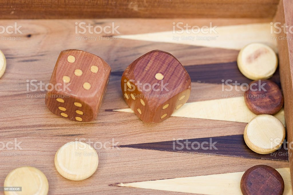 Game of dice royalty-free stock photo