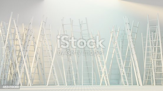 1154986671 istock photo Game of Ladder 483459088