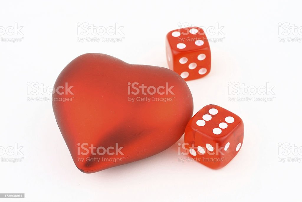 Game of love royalty-free stock photo