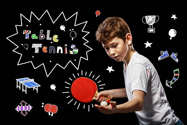 Partie Tischtennis – Foto