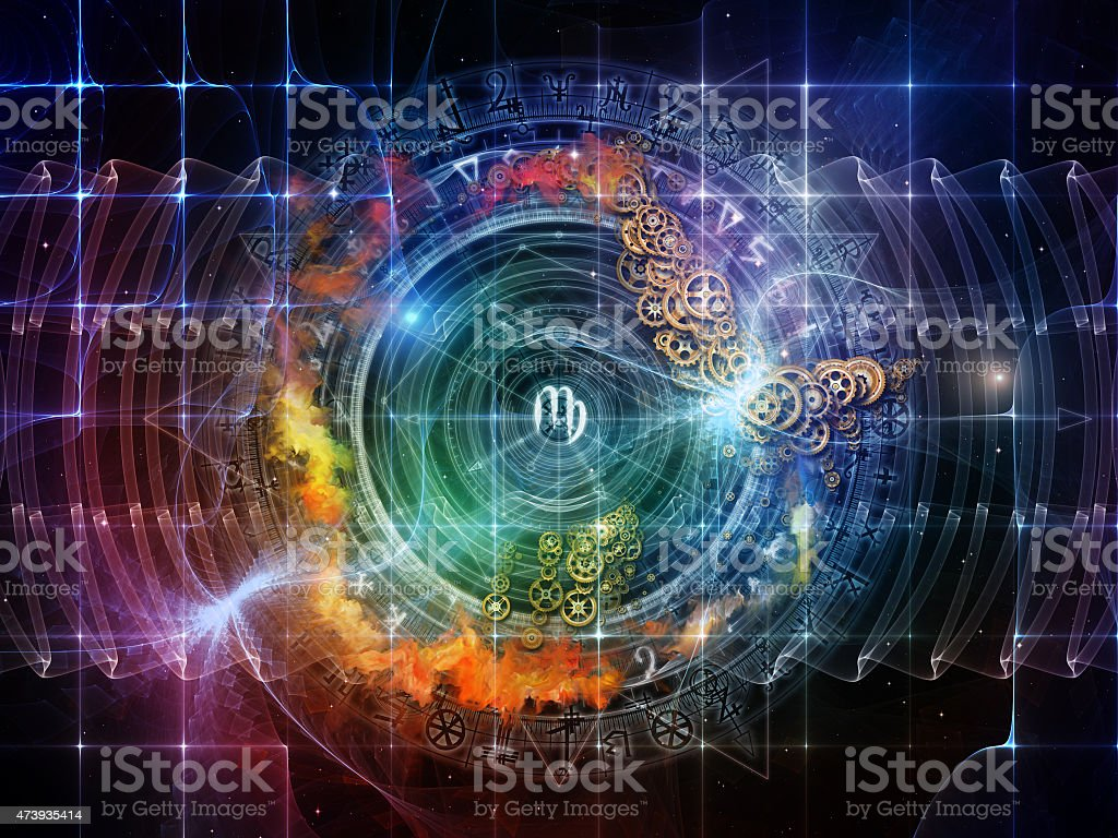 Game of Sacred Geometry stock photo