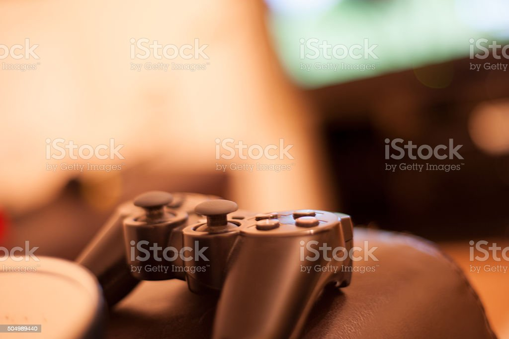 Game on stock photo